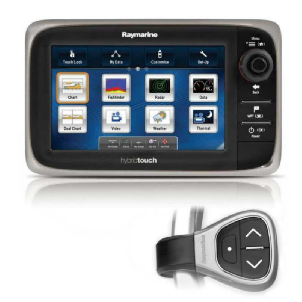 Display multifunción Raymarine e7
