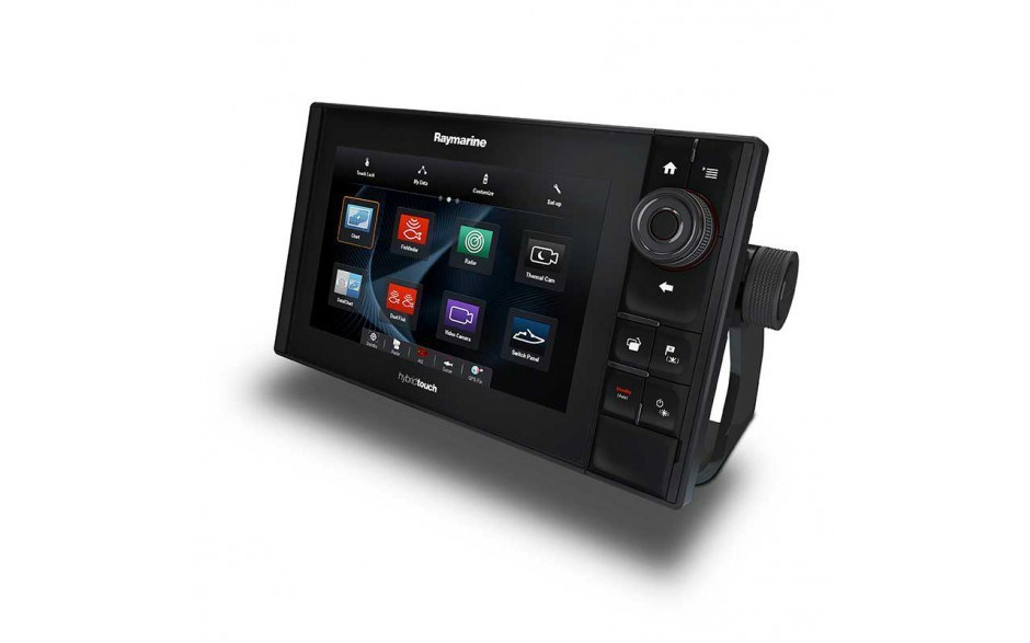 "Display 12.1"" eS128 Raymarine HybridTouch DownVision, carta C-MAP Essentials EU"