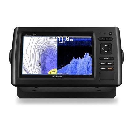gps plotter sonda garmin echo-map 70dv HD con transductor icluido