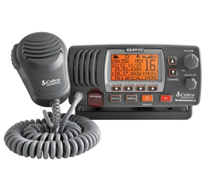 Radio VHF MR F77 Cobra con GPS