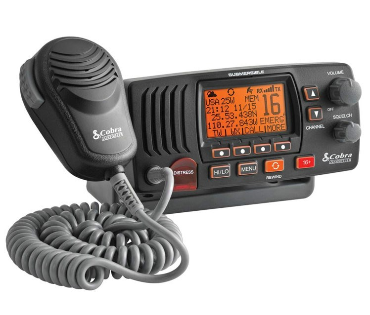 Radio VHF MR F57B Cobra DSC Clase D (3)