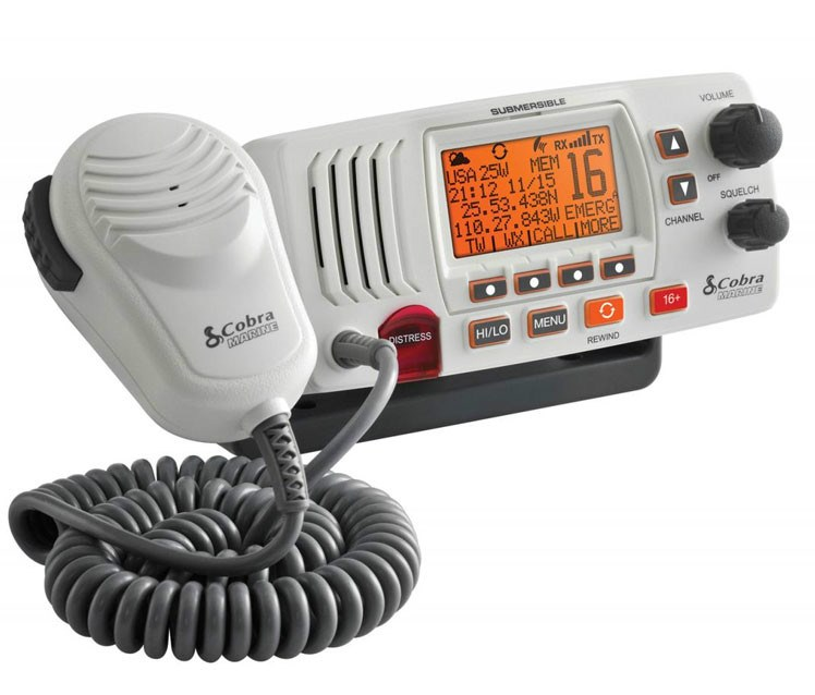 Radio VHF MR F57B Cobra DSC Clase D (2)